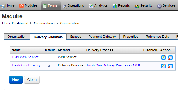 Create a Delivery Channel